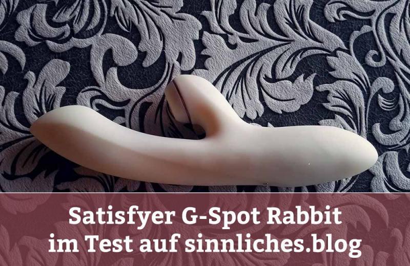 Satisfyer Pro G-Spot Rabbit Test