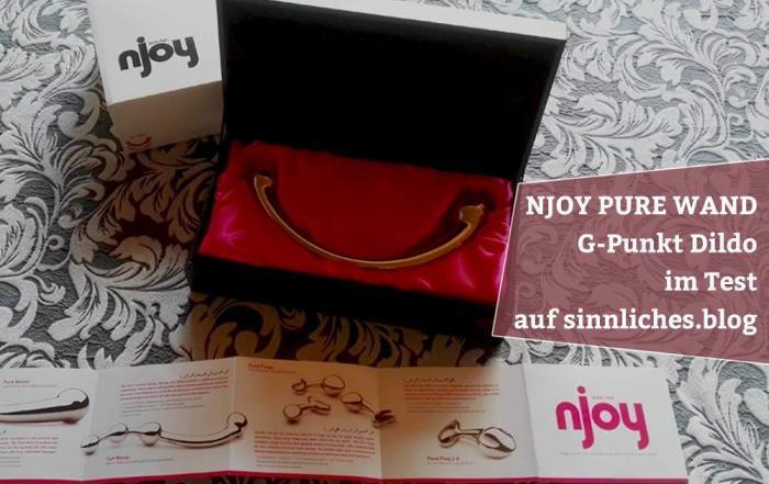 Njoy Pure Wand Test - G-Punkt Dildo aus Edelstahl