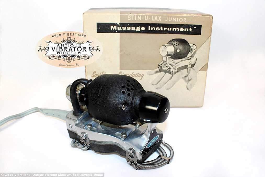 Zeitungsanzeige für einen Vibrator Anfang 20. Jahrhundert