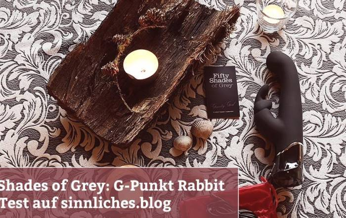 Fifty Shades of Grey – G-Punkt Rabbit Vibrator Test