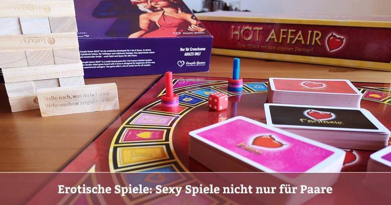 Erotische Spiele - Sexy Spiele Erotische Gesellschaftsspiele