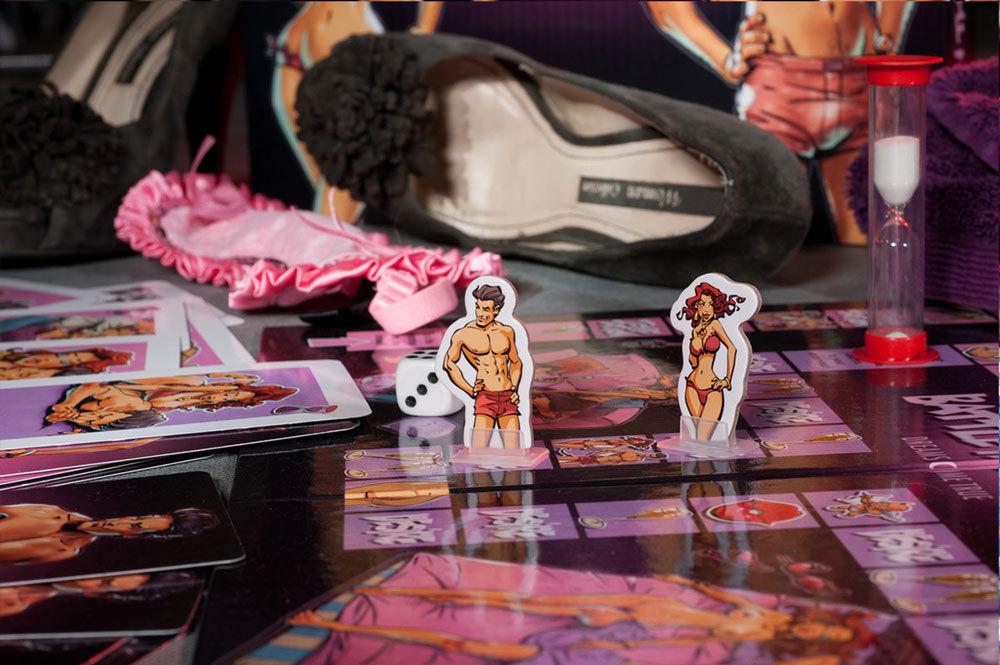 Schmuseduell: Erotisches Brettspiel für Paare