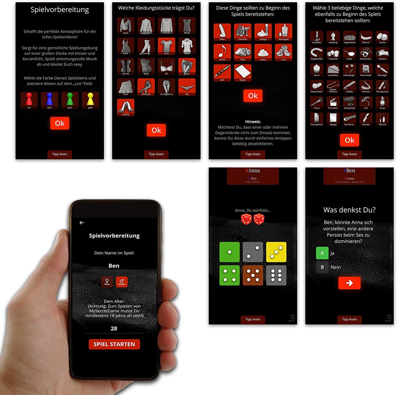 Erotik App bringt viel Abwechslung ins Spiel