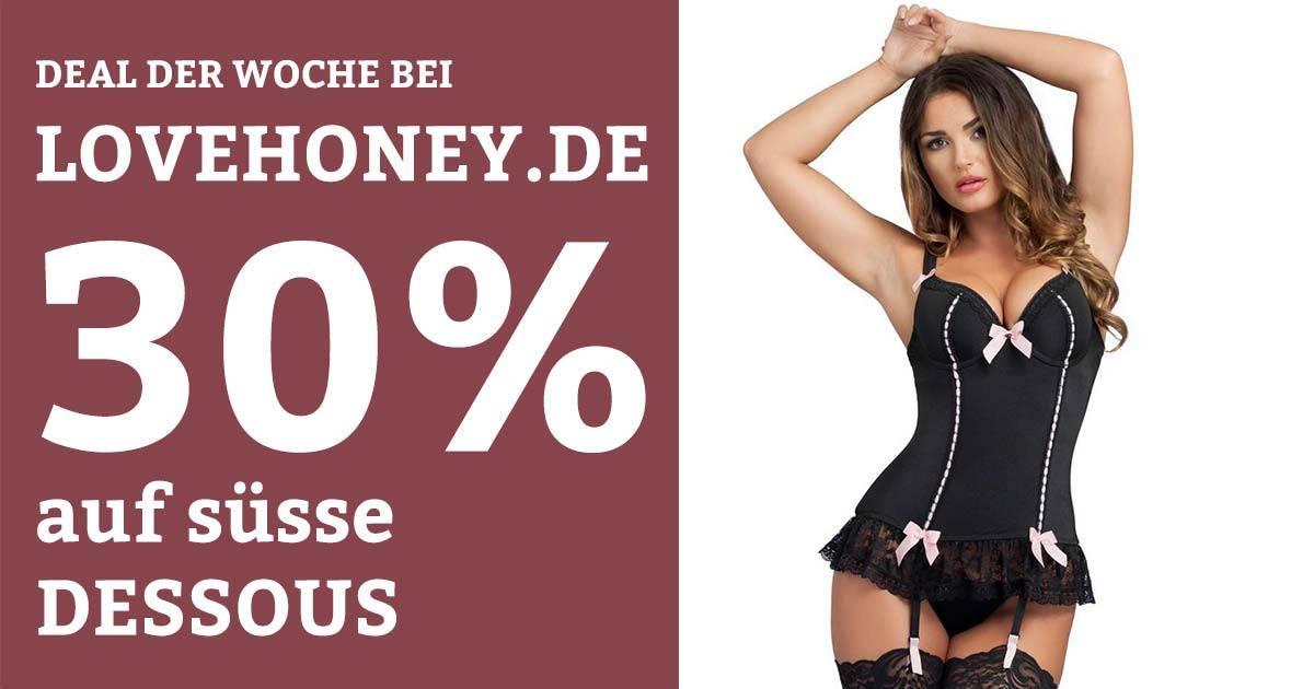 30% auf Dessous bei Lovehoney