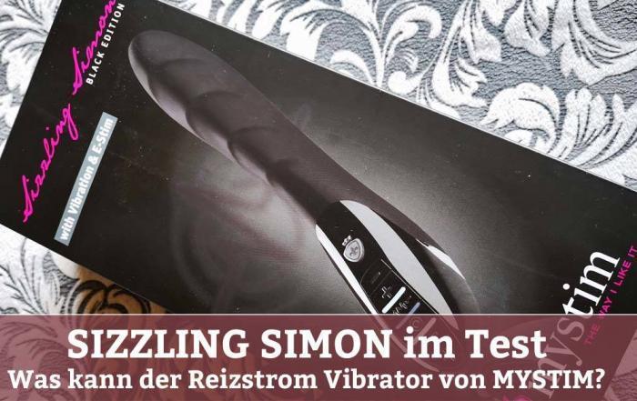 Sizzling Simon - Reizstrom Vibrator / Mystim Vibrator Test