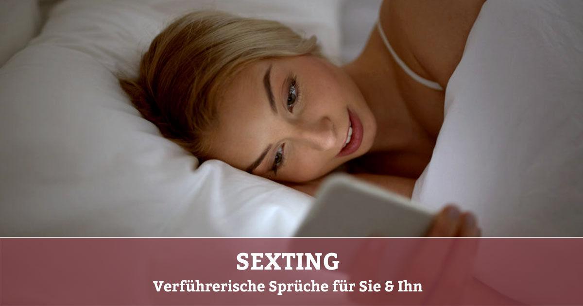 Sexting Beispiele- Verführerische Sprüche & erotische Nachrichten
