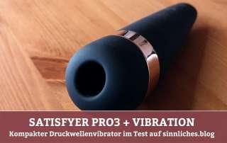 Satisfyer Pro 3 Vibration Test